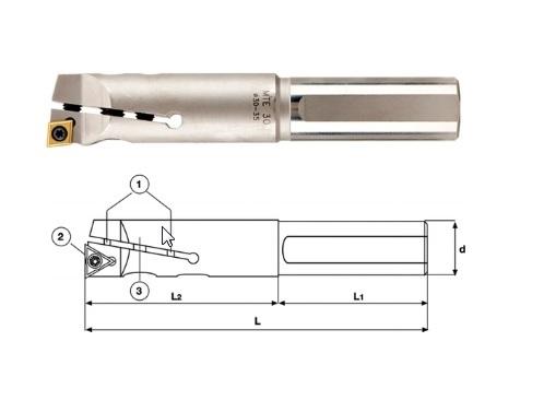Verstelbare boorstangen | DKMTools - DKM Tools
