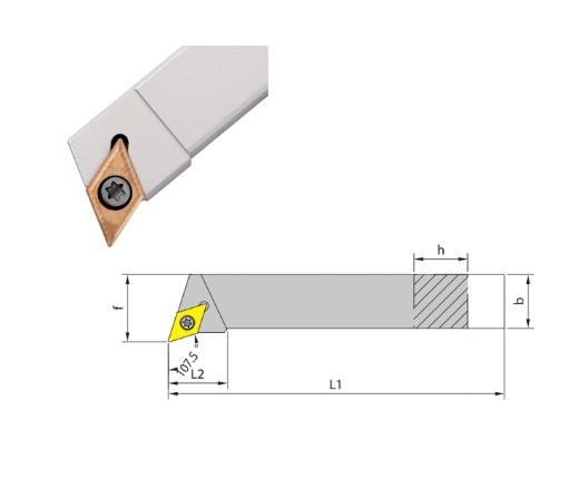 Klemdraaihouder SDHC 107 | DKMTools - DKM Tools