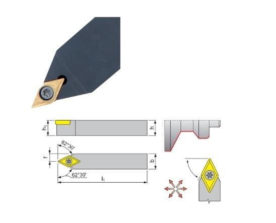 Klemdraaihouder SDNC 62 | DKMTools - DKM Tools