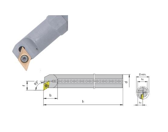 HM Boorstang SDUC 93 koelmiddeltoevoer | DKMTools - DKM Tools