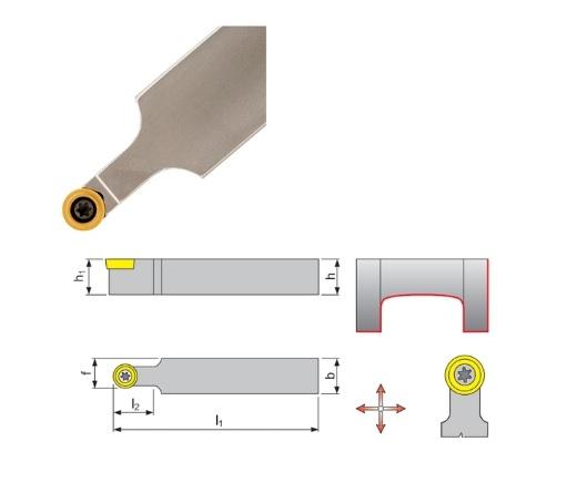 Klemdraaihouder SRDC | DKMTools - DKM Tools