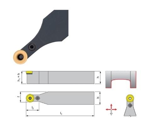 Klemdraaihouder PRDC | DKMTools - DKM Tools