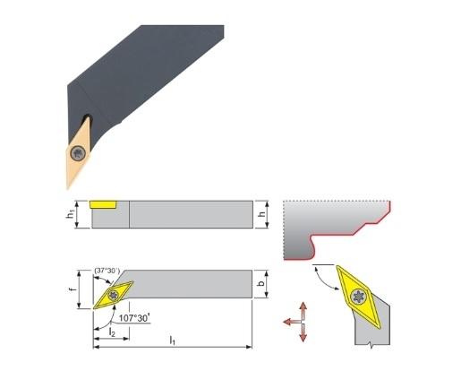 Klemdraaihouder SVHC 107 | DKMTools - DKM Tools