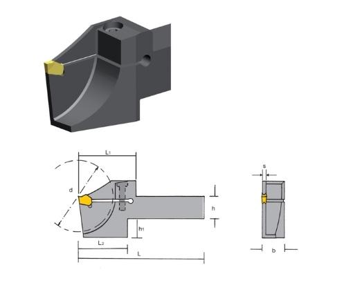 Steekdraaihouder CLCB | DKMTools - DKM Tools