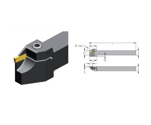 Afsteekhouder CXCB 1 5 2 5mm | DKMTools - DKM Tools