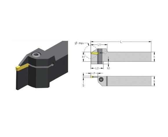 Steekdraaihouder CXCB 3 0 3 5mm | DKMTools - DKM Tools