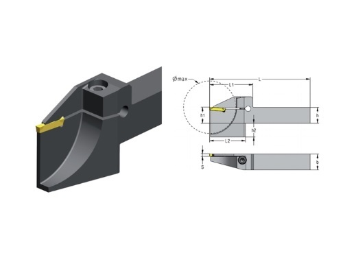 Afsteekhouder A CXCB | DKMTools - DKM Tools