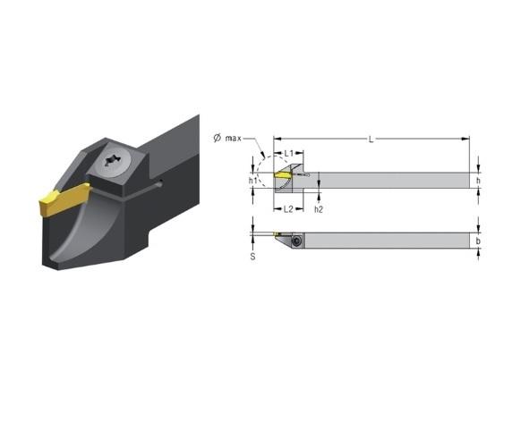 Afsteekhouder S CXCB | DKMTools - DKM Tools