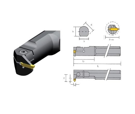 Precisie boorstang P CG | DKMTools - DKM Tools