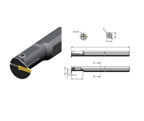 Boorstang CGR interne koeling | DKMTools - DKM Tools