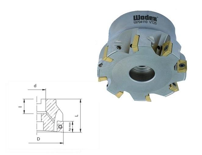 Hoekfrees APKT 10 Met interne koeling | DKMTools - DKM Tools