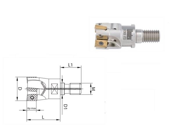Schroeffrees APKT 10 Met interne koeling | DKMTools - DKM Tools