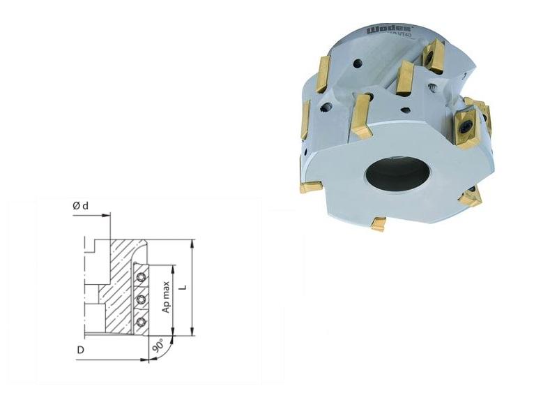 Schachtschrubfrees APKT 16 | DKMTools - DKM Tools