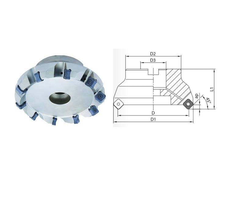 Vlakfrees Eco Mill SN.X | DKMTools - DKM Tools