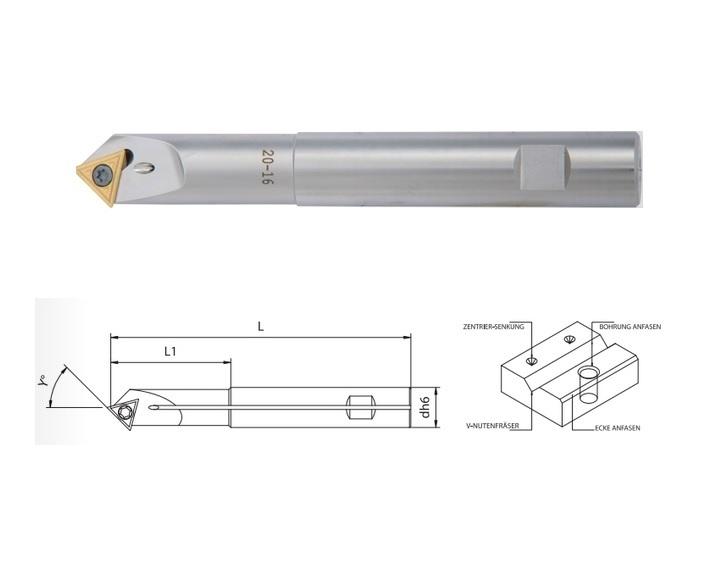 Verstelbare fasefrezen 45 | DKMTools - DKM Tools