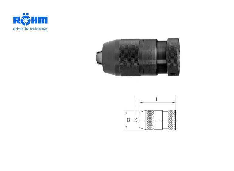 Rohm snelspanboorhouder Supra   DKMTools - DKM Tools