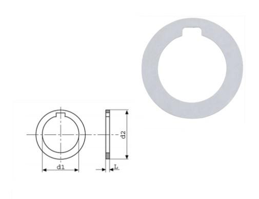 Freesdoornring DIN 2084 Form A   DKMTools - DKM Tools