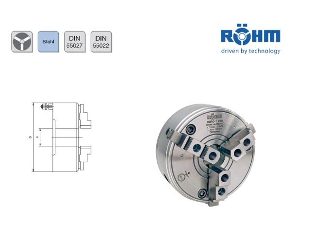 Rohm Klauwplaat Duro T DIN 55027 | DKMTools - DKM Tools