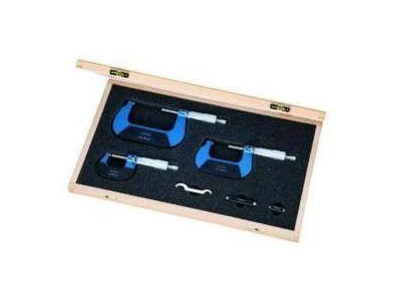 Buitenschroefmaat set 4 delig 0 100mm | DKMTools - DKM Tools