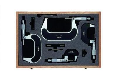 Buitenschroefmaten set 0 100mm Mitutoyo 102 911 01 | DKMTools - DKM Tools