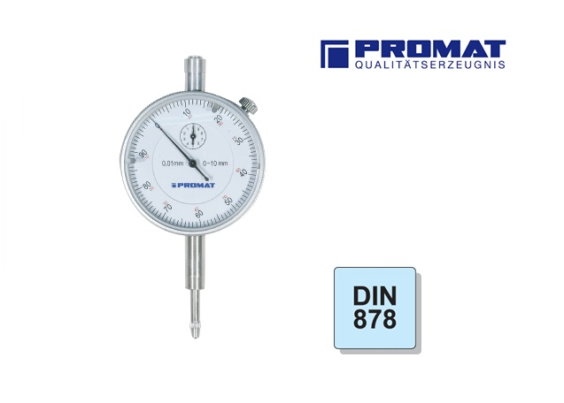 Precisie meetklok DIN 878 1   DKMTools - DKM Tools