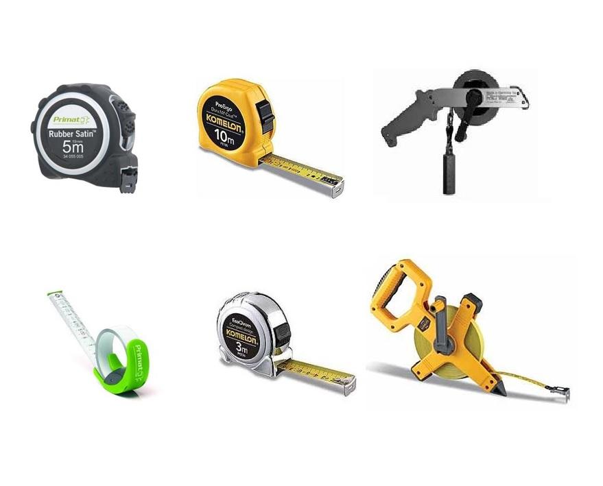 Rolmaten en meetlatten | DKMTools - DKM Tools