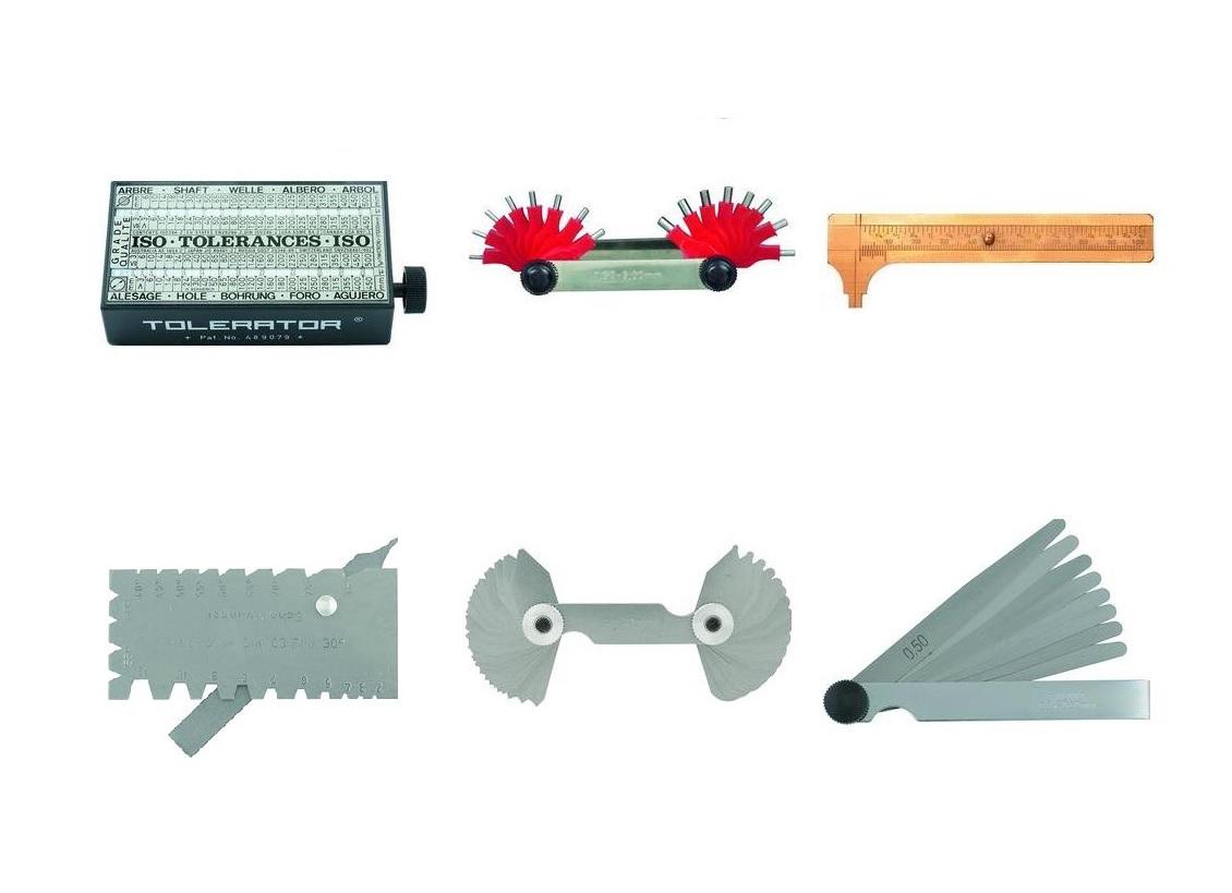 Voelermaten Sjablonen | DKMTools - DKM Tools