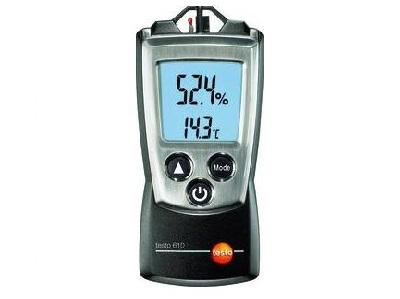 Testo 610 vocht en temperatuurmeter | DKMTools - DKM Tools