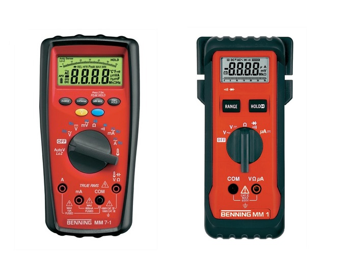 Benning MM Digitale multimeters | DKMTools - DKM Tools