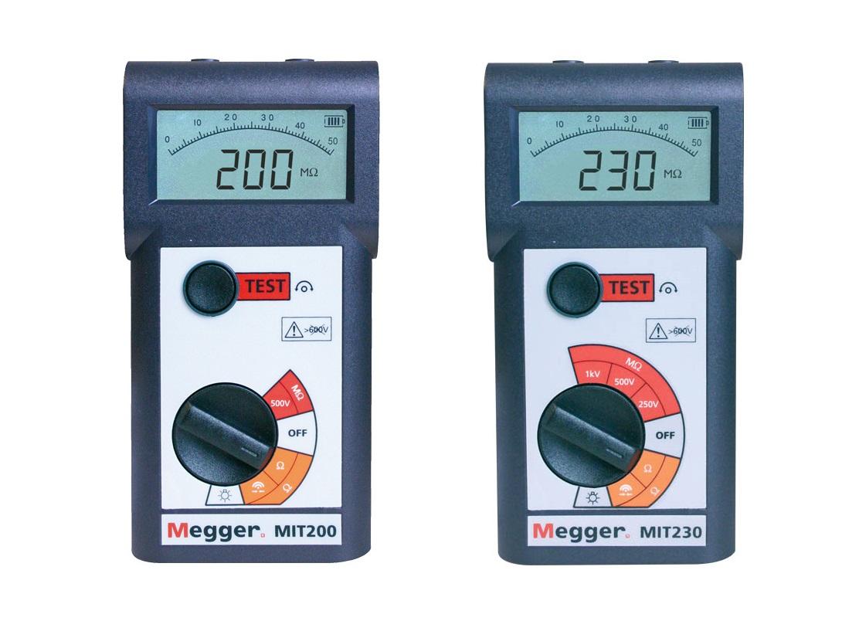 Megger MIT200.Isolatieweerstand Meters   DKMTools - DKM Tools