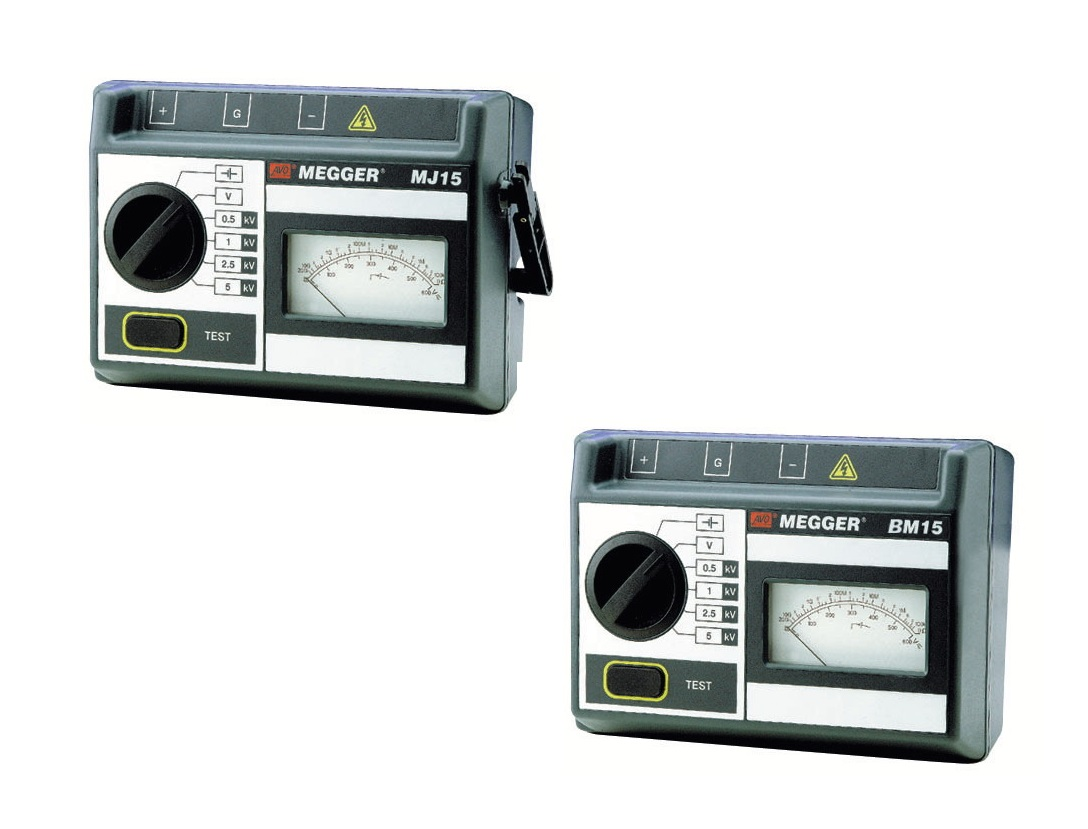 Megger MJ. Isolatieweerstandmeters 5 kV   DKMTools - DKM Tools