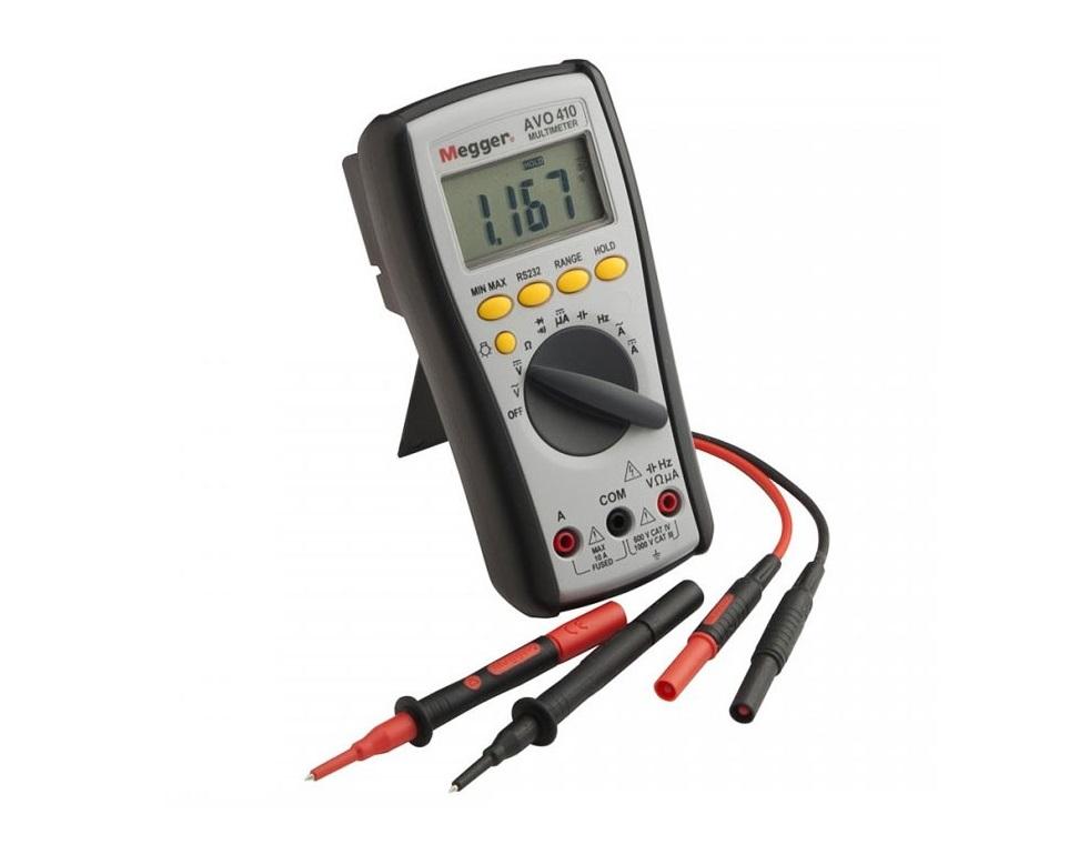 Megger AVO410. Digitale multimeter   DKMTools - DKM Tools