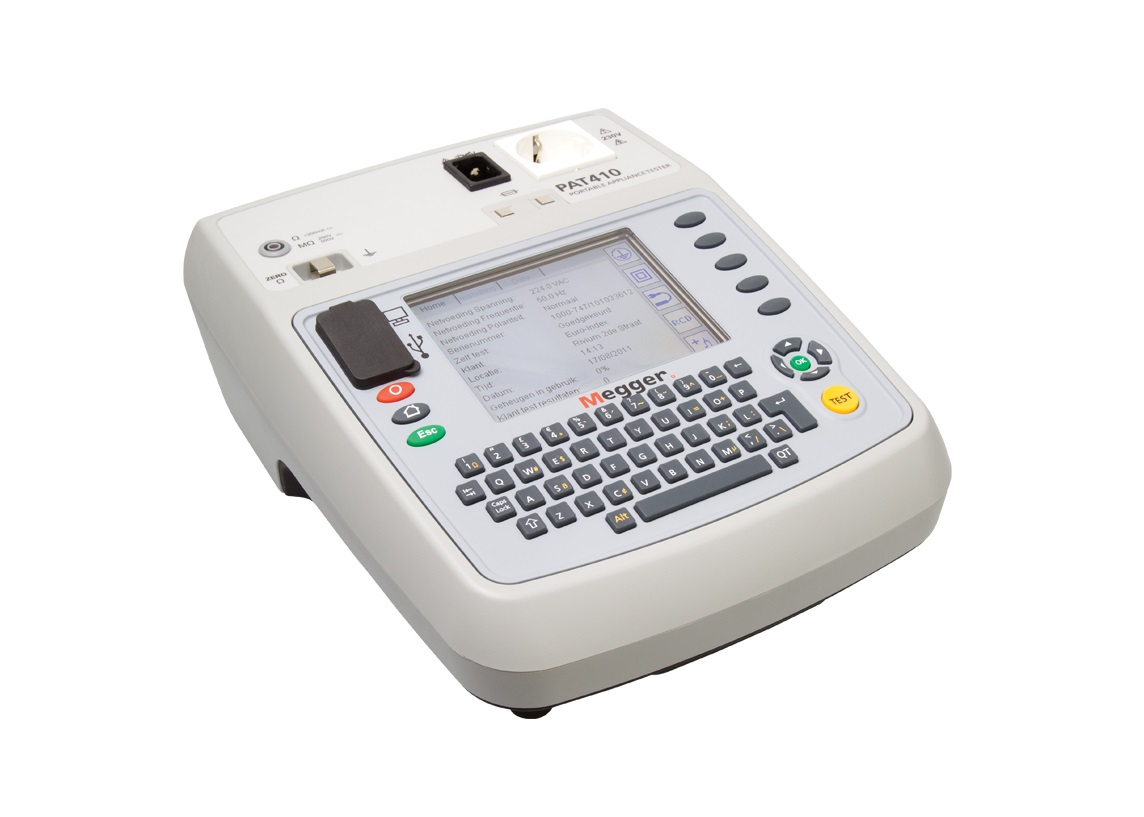 Megger PAT410. Apparatentester   DKMTools - DKM Tools