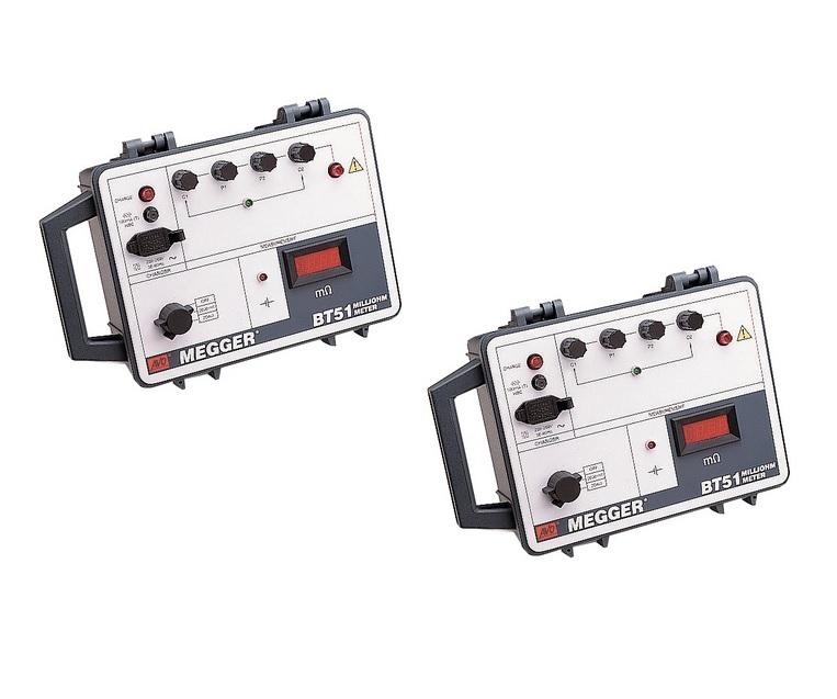 Megger BT51. Lage weerstandohmmeter 2A   DKMTools - DKM Tools