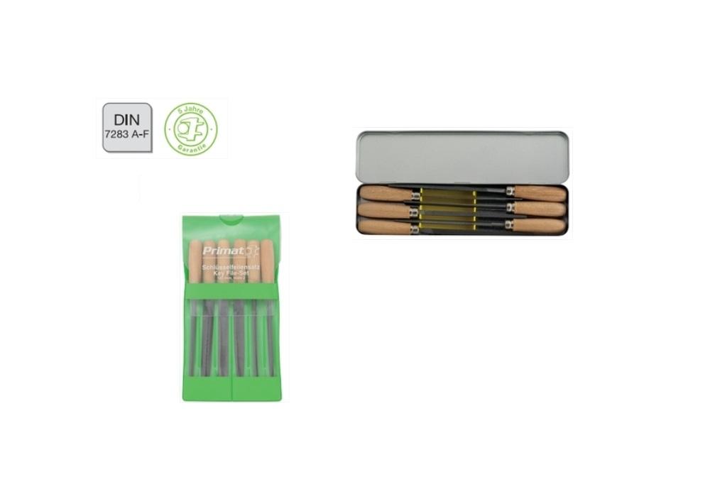 Sleutel vijlen DIN 7283 A F Set | DKMTools - DKM Tools