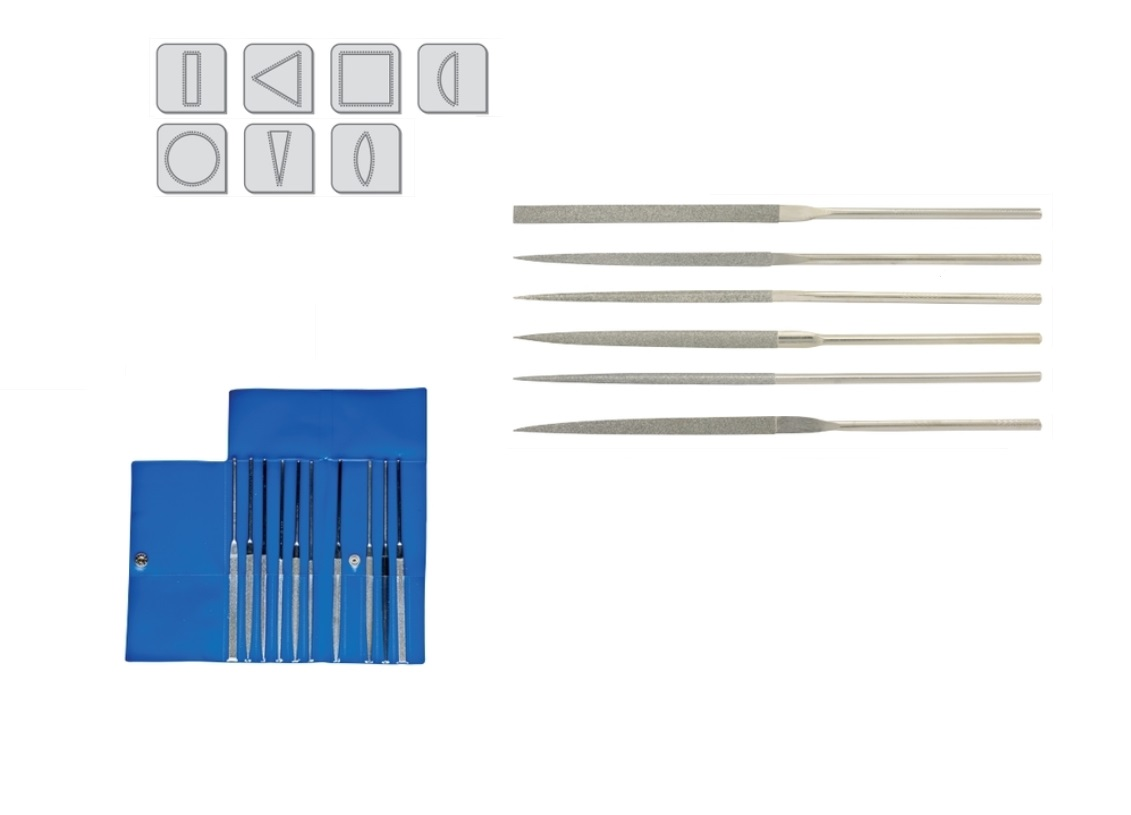 Diamant Naaldvijlen | DKMTools - DKM Tools