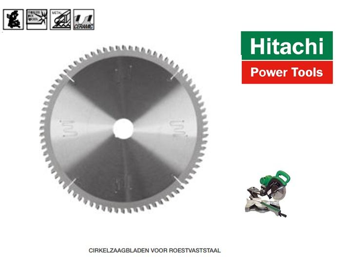 Hitachi Cirkelzaagblad. voor roestvaststaal | DKMTools - DKM Tools