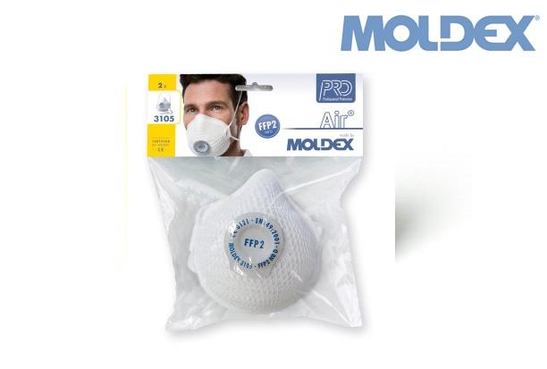MOLDEX 3105. tweezijdig beschermd 5 pak FFP2NRD | DKMTools - DKM Tools