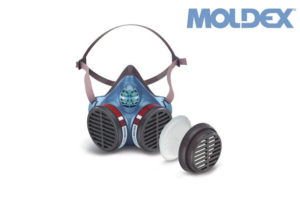 MOLDEX 5164. voorgemonteerd gelaatsmasker ffA1P1RD | DKMTools - DKM Tools