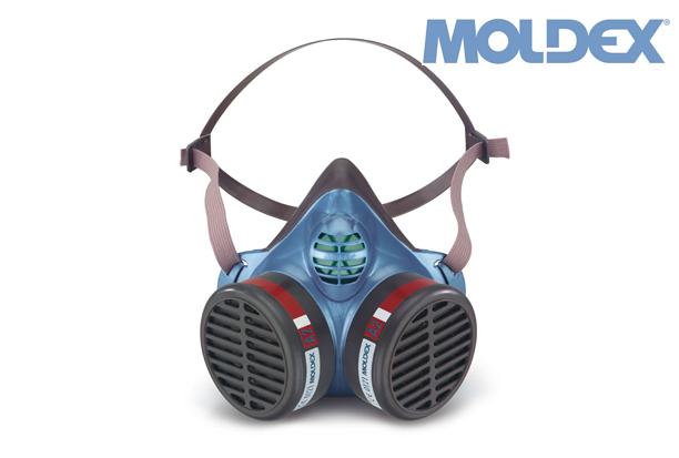 MOLDEX 5504. voorgemonteerd halfgelaatsmasker ffA2 | DKMTools - DKM Tools