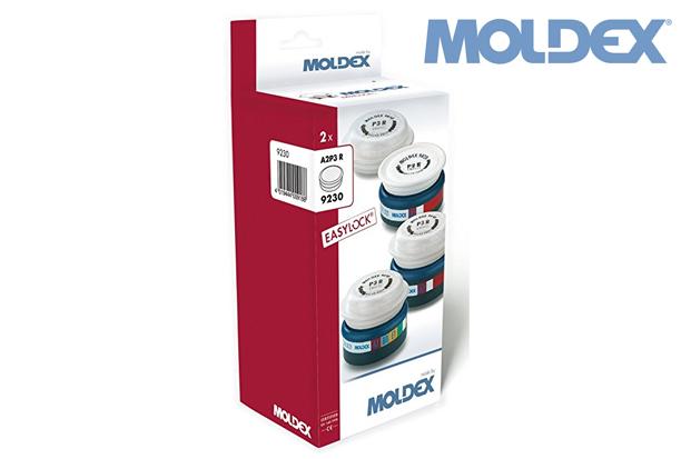 MOLDEX 9230. gemonteerde filters A2P3R retail | DKMTools - DKM Tools