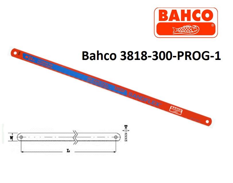 Metalen handzaagblad Bahco 3818 300 PROG 1 | DKMTools - DKM Tools