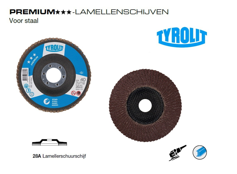 Lamellenschijven. 28A PREMIUM Staal   DKMTools - DKM Tools