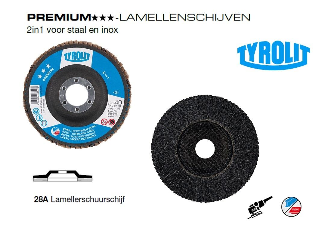 Lamellenschijven 28A. PREMIUM 2 in 1 | DKMTools - DKM Tools