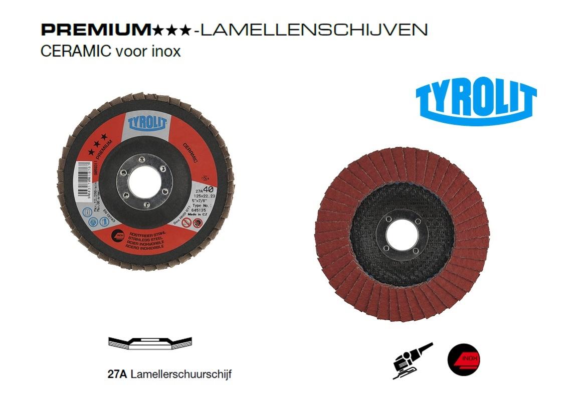 Lamellenschijven CERAMIC. 27A PREMIUM | DKMTools - DKM Tools