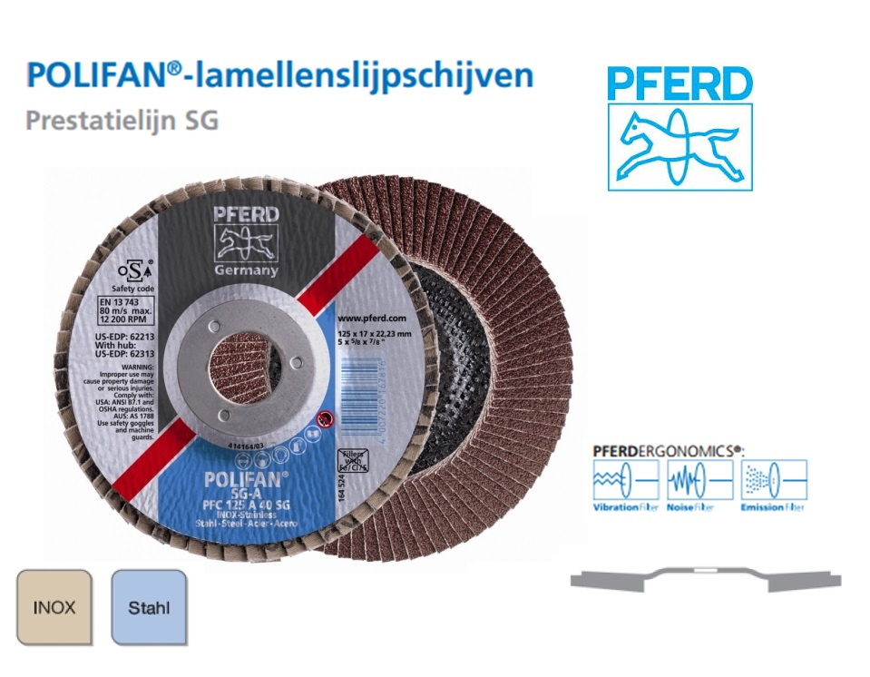 Lamellenschijven POLIFAN. SG A PFC   DKMTools - DKM Tools