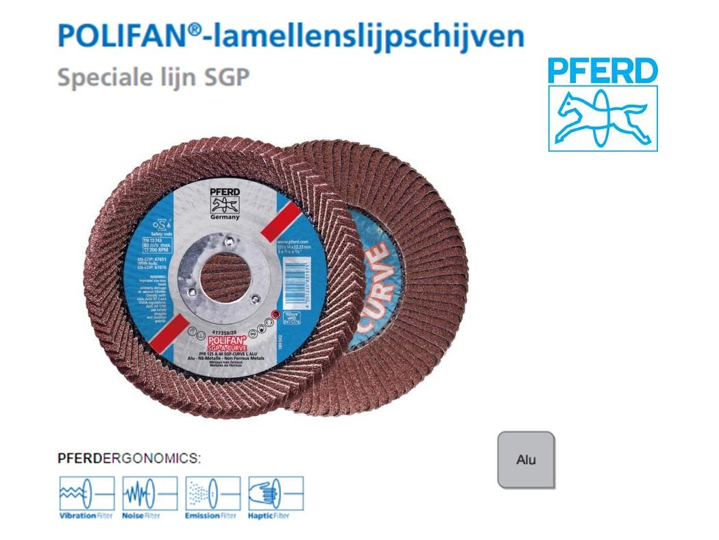 Pferd POLIFAN PFR SGP CURVE L ALU   DKMTools - DKM Tools