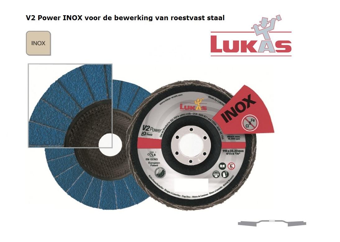 Lukas V2 Power.Z Power Lamellenslijpschijven | DKMTools - DKM Tools