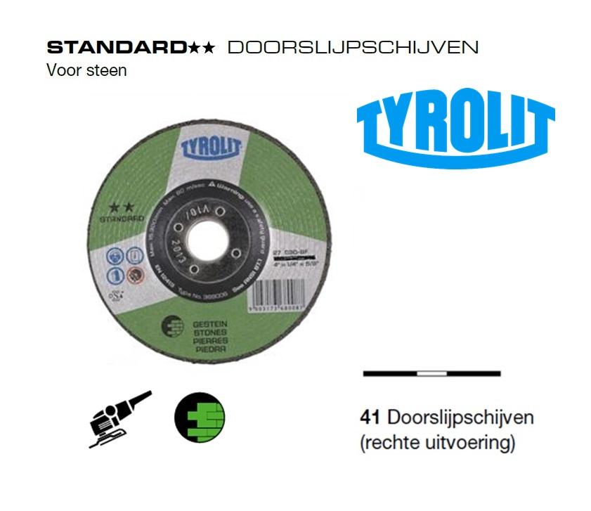 Doorslijpschijven 41 Standard steen | DKMTools - DKM Tools
