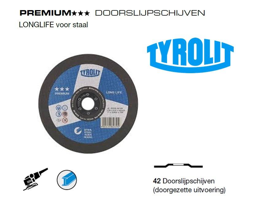 Doorslijpschijven 42 PREMIUM Staal | DKMTools - DKM Tools